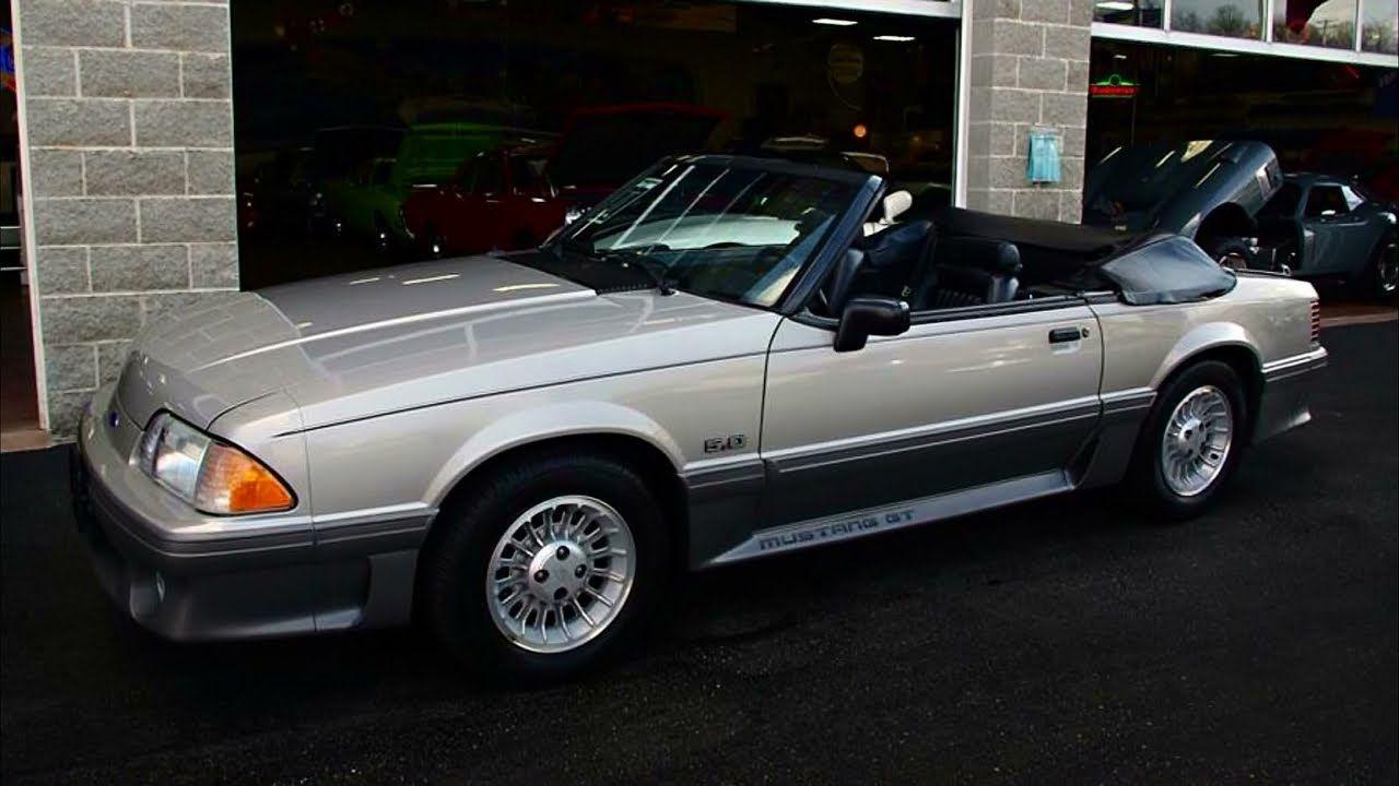 90 Mustang Gt Convertible Mustang Mustang Gt Ford Mustang