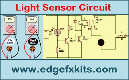 Light Sensor #Circuit Diagram with Working Operation #Electronics ...