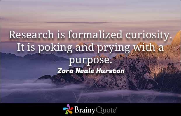 Quotes On Research Beauteous Research Quotes