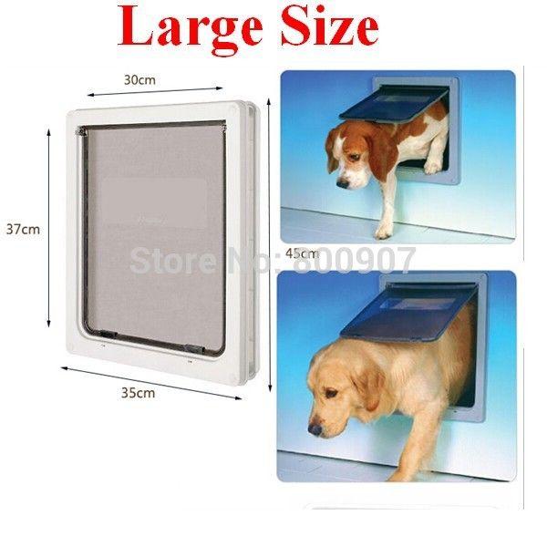 Lux Dog Door Flaps Medium And Large Dog Flap Home Decoration