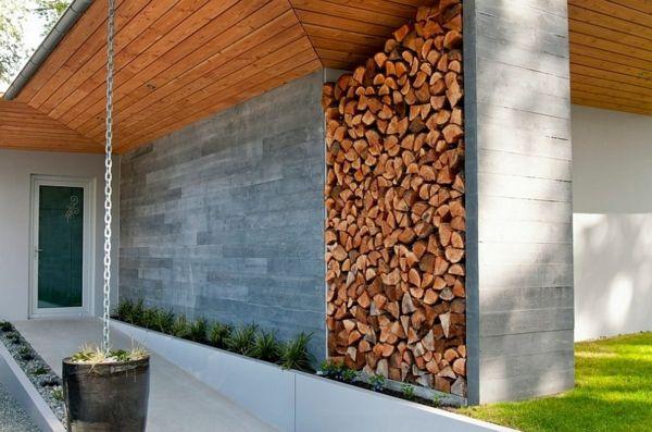 brennholz lagern kann auch kunstvoll und sthetisch sein architektur pinterest brennholz. Black Bedroom Furniture Sets. Home Design Ideas