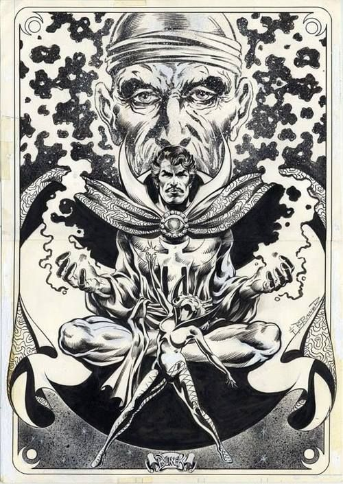Frank Brunner  Strange Clea and the Ancient One