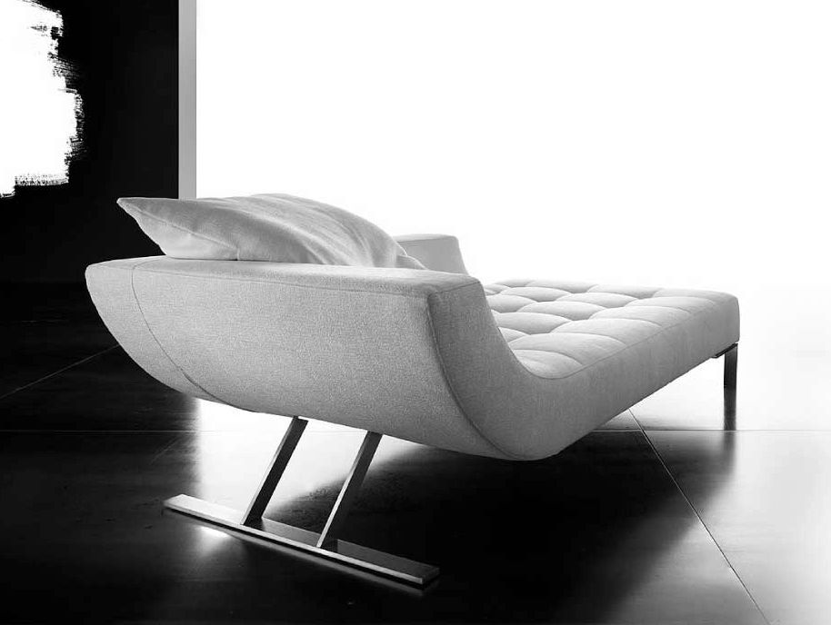 chaise longue rembourr e collection viceversa by erba italia design giorgio soressi. Black Bedroom Furniture Sets. Home Design Ideas