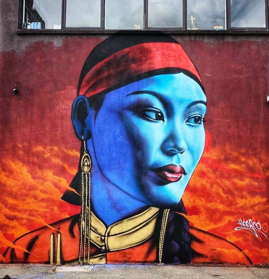 Heesco Graffiti art, Street artists, Street wall art