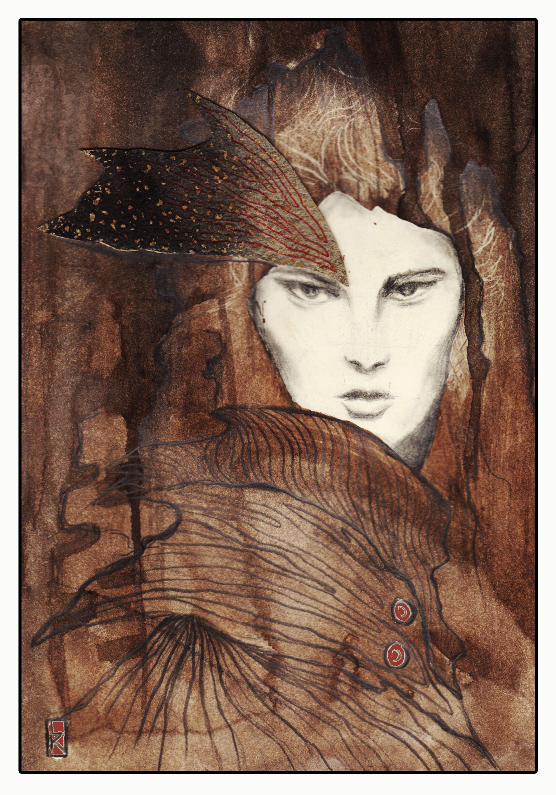 The Tree Within - Watercolor- Laura Krusemark