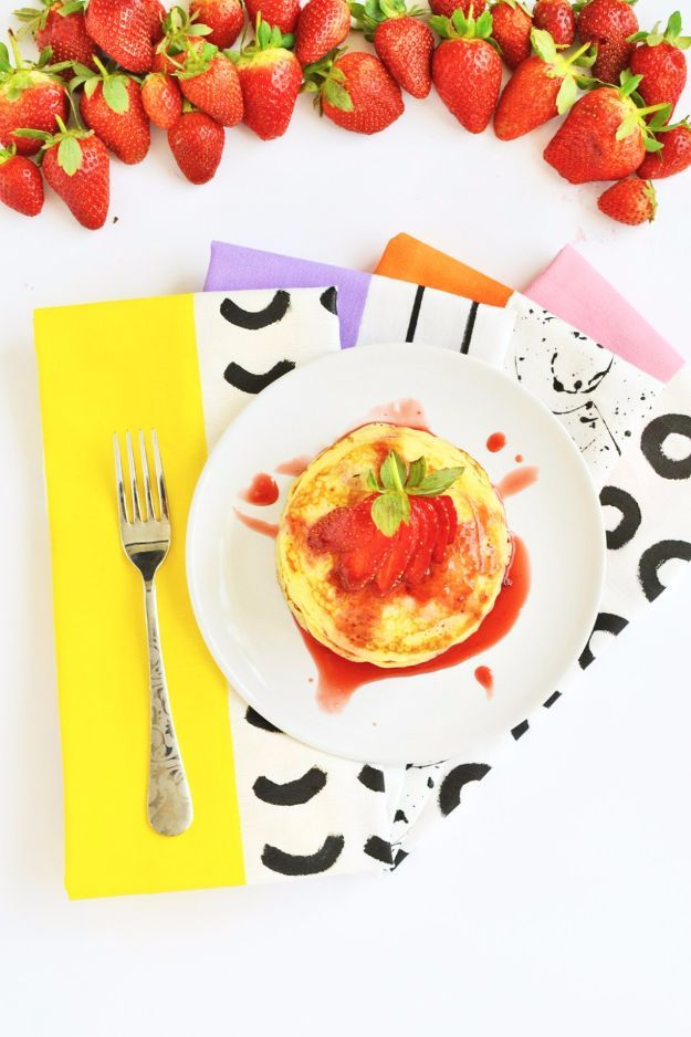 42 cool napkins and placemats to make today patterned on incredible kitchen designs that will make you need to repeat yours id=28475