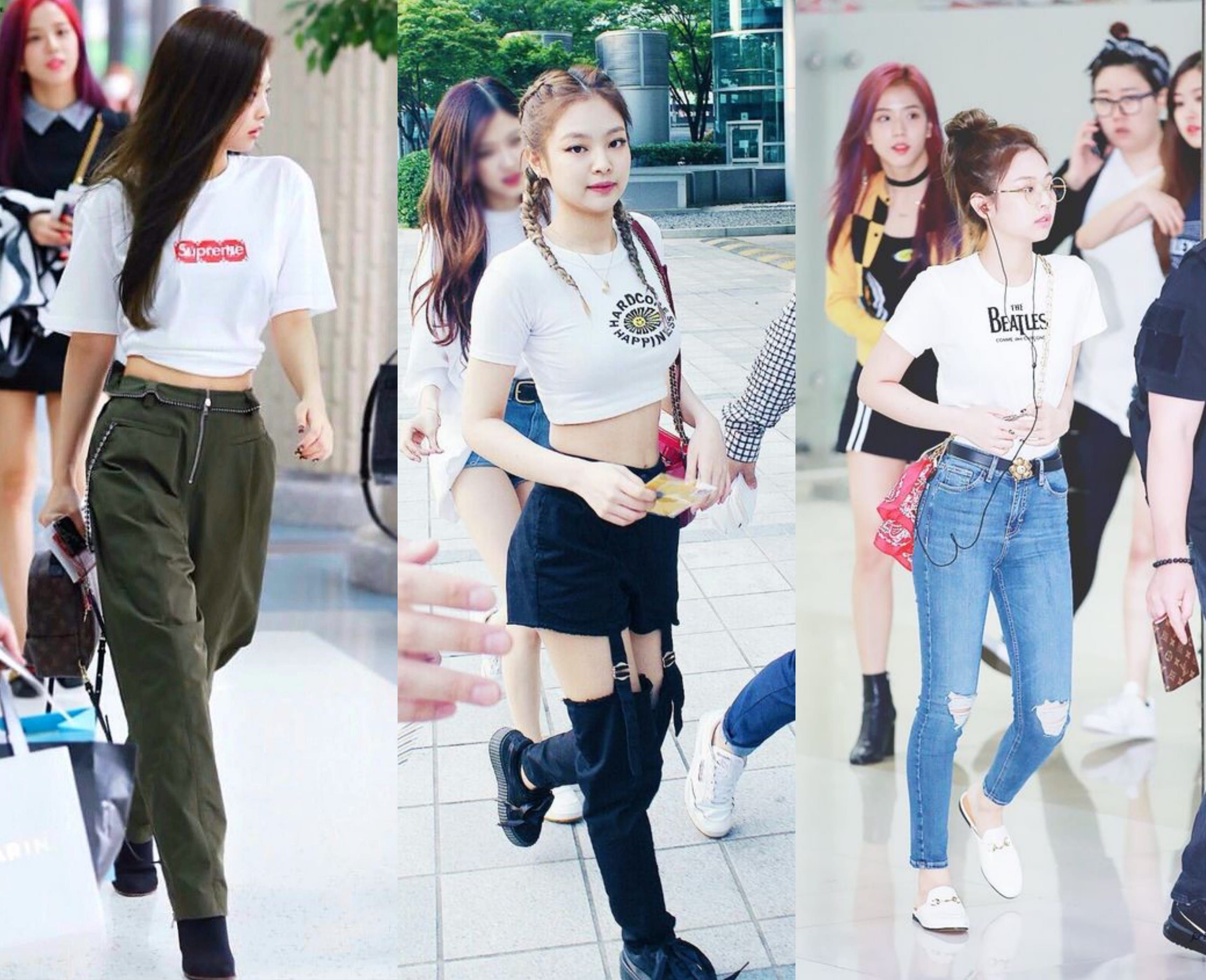 Individually Flawless Blackpink S Off Stage Style Decoded Soompi Korean Fashion Korean Fashion Kpop Korean Fashion Summer Casual
