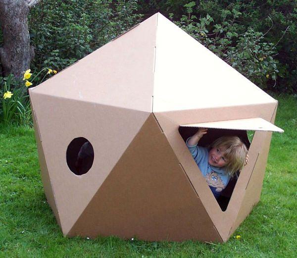 20 casette di cartone fai da te per bambini giocattoli for Casetta di cartone per bambini fai da te