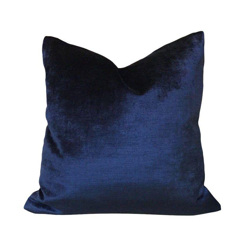 Blue Luxury Velvet Throw Pillow,46 Colours Velvet Pillow Cover,Decorative Velvet Pillow,Velvet Cushion Case,Velvet Pillow,Custom size