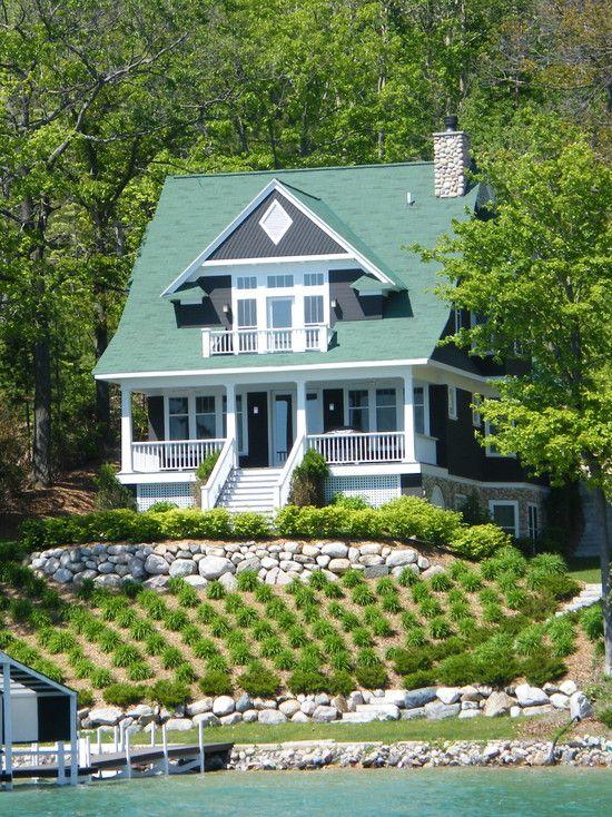 Pure Copper Accent Bay Window Idaho Defenderx Series Sure Lock Ml100 Standing Seam Metal Roof Bay Window Exterior Exterior House Siding House Exterior