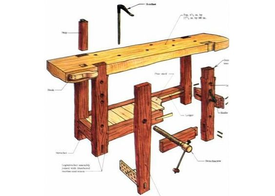 La folie de l\u0027établi Wood working, Woodworking and Bench - Montage D Un Garage En Bois
