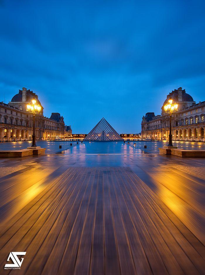 Louvre @ sunrise | Louvre, Paris, France (HDR) My Facebook … | Flickr - Photo Sharing!