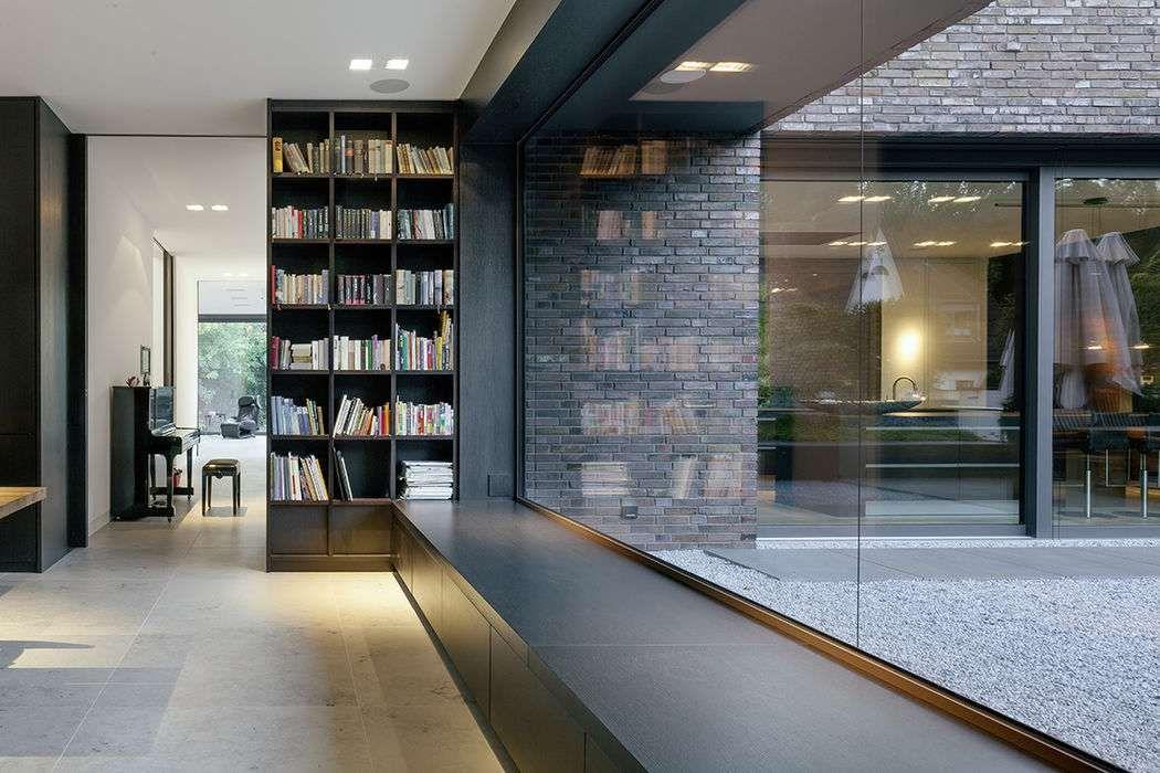 Ein Einfamilienhaus schafft Bezüge zwischen Innen und Außen und mit - interieur design neuen super google zentrale