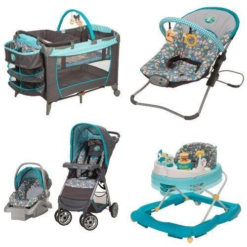 5 pc winnie pooh set newborn #baby infant playard stroller car ...