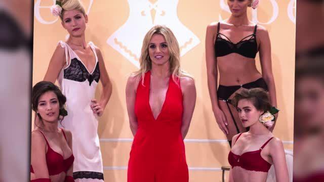 Britney Spears lanza su línea de ropa interior
