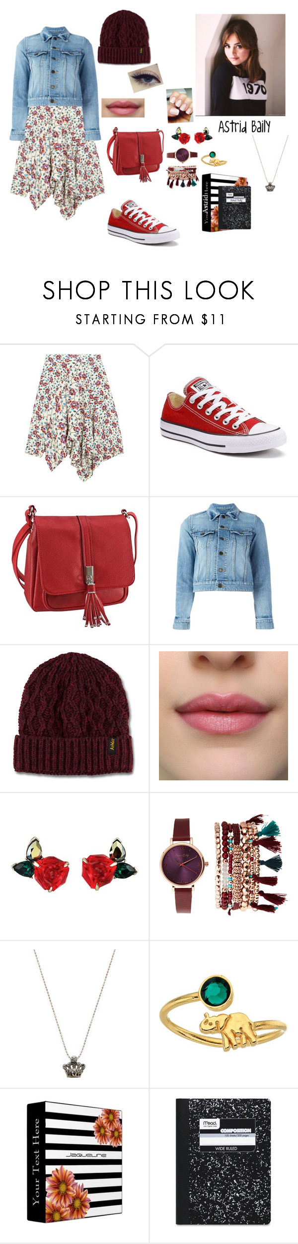 """""""Book character"""" by fancycupcakesquad ❤ liked on Polyvore featuring Isabel Marant, Converse, Yves Saint Laurent, Dr. Martens, Jessica Carlyle, Sydney Evan, Alex and Ani and Mead"""