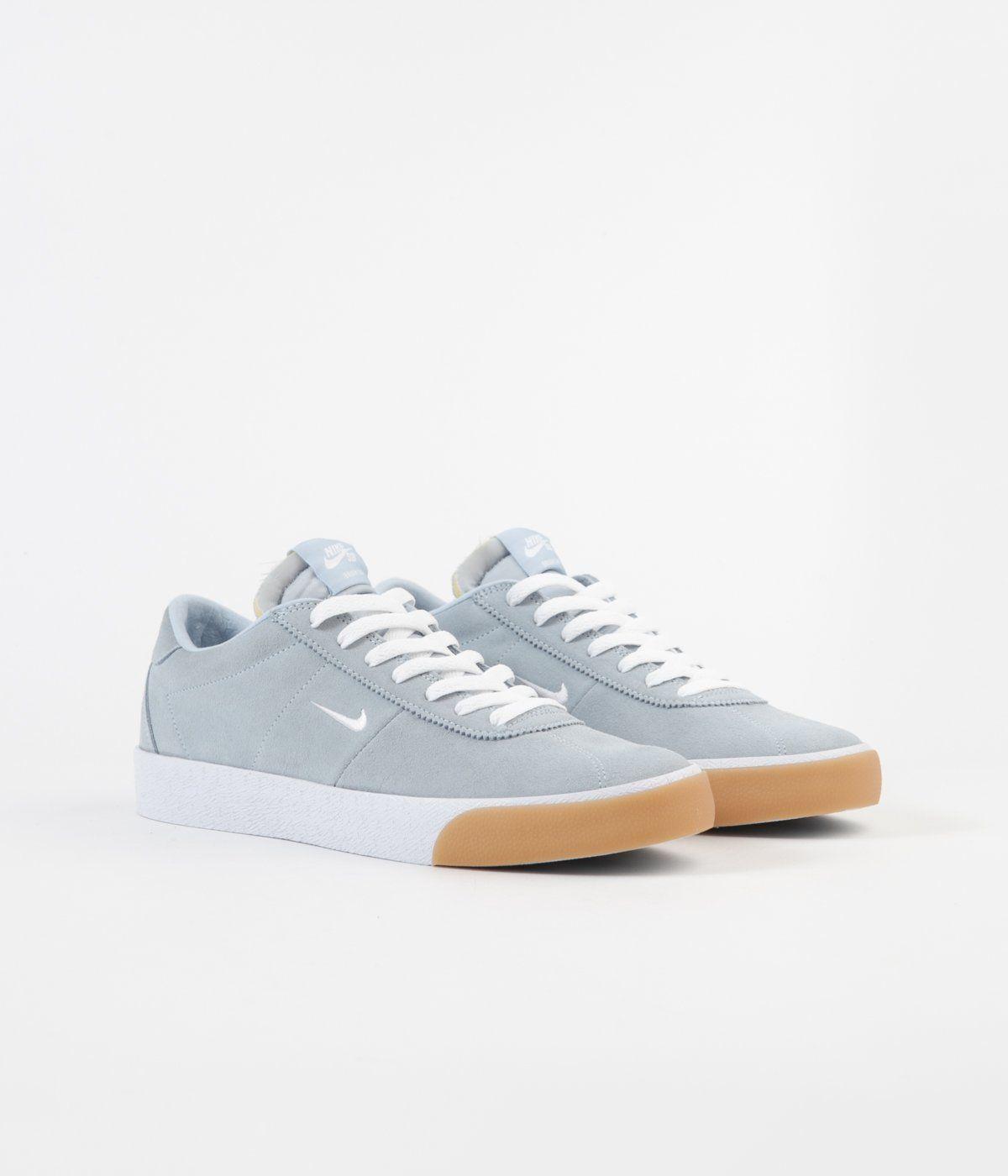 Nike SB Bruin Ultra Shoes Light Armory Blue White Gum