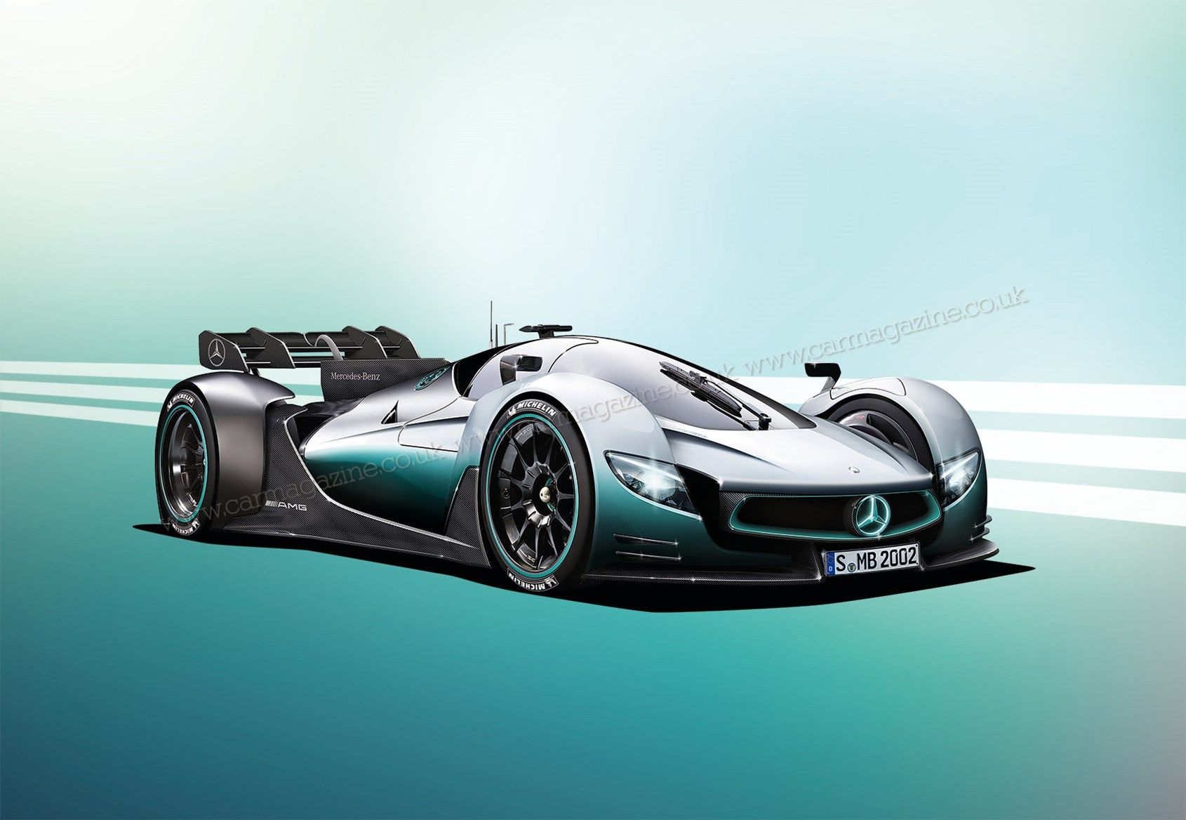 Mercedes Amg Confirms A Hybrid Hypercar At The Paris Motor