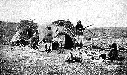 Photo of American Indian's History: Commanche and Apache Burials Described
