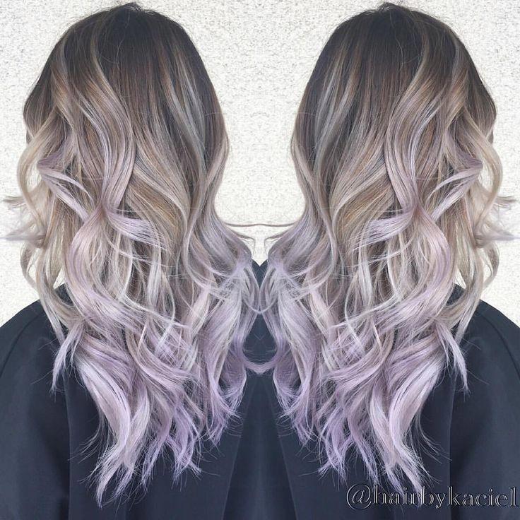 Pinterest Kmarieee6 Purpleombrehair Balayage Hair Light Purple Hair Ombre Hair Color
