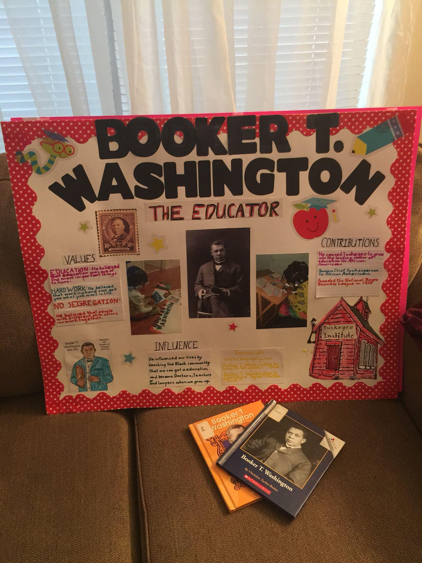 Black History Project Booker T Washington