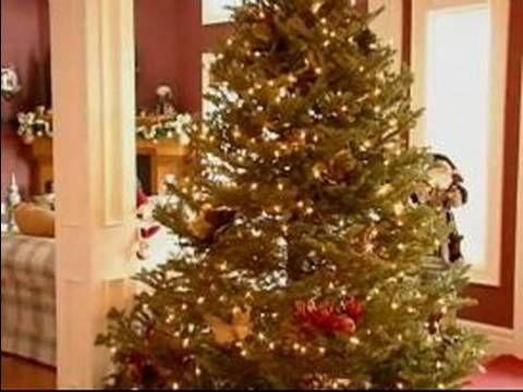 Pre lit christmas trees differences between incandescent and led