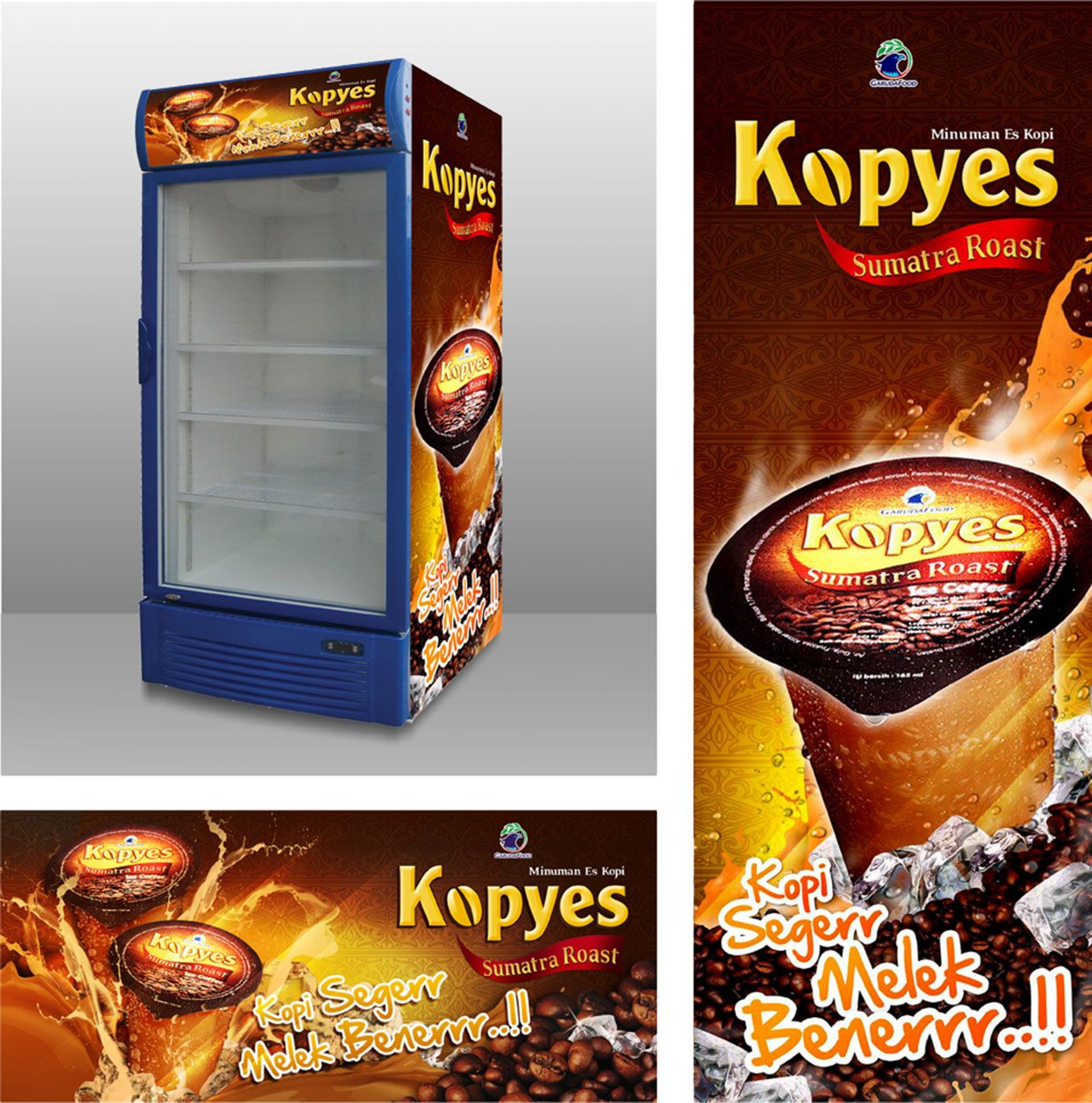Kopyes made from Indonesian Traditional Sumatra's Coffee