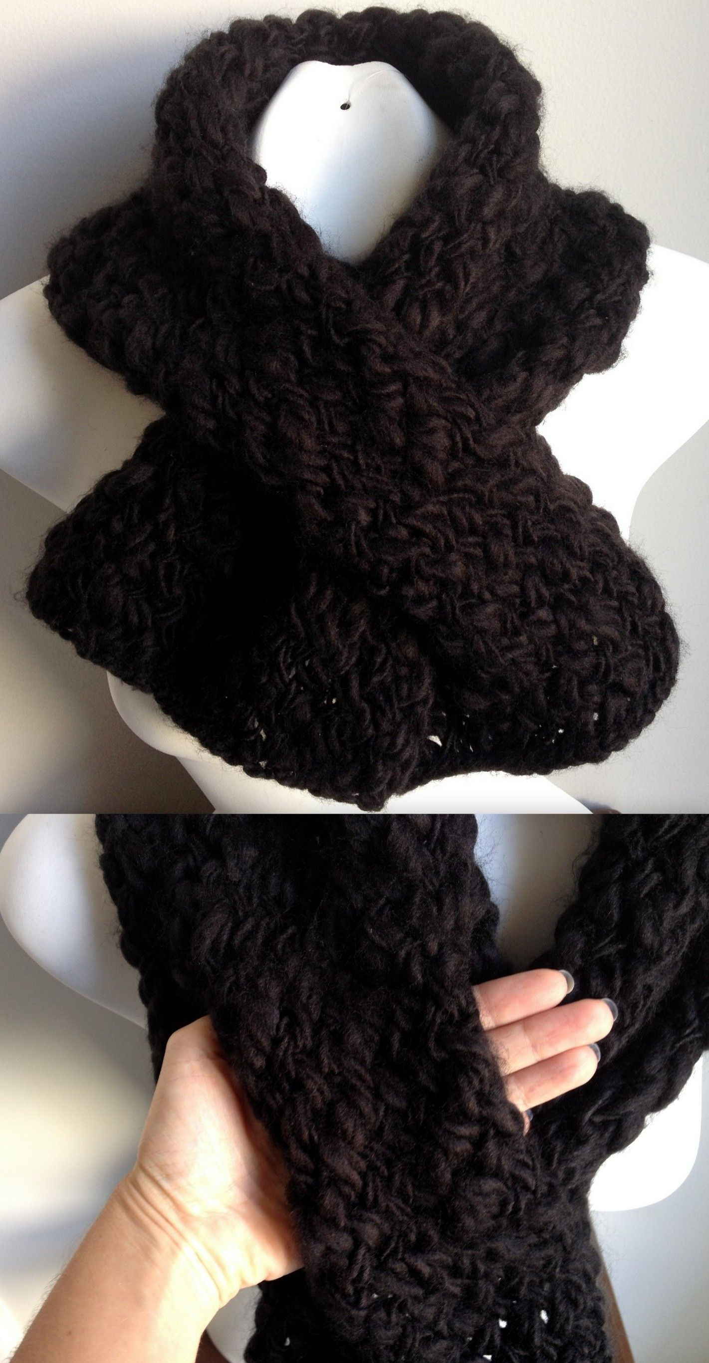 Neck Warmer - Cowl ask for a free pattern. Neck Warmer - Cowl ...