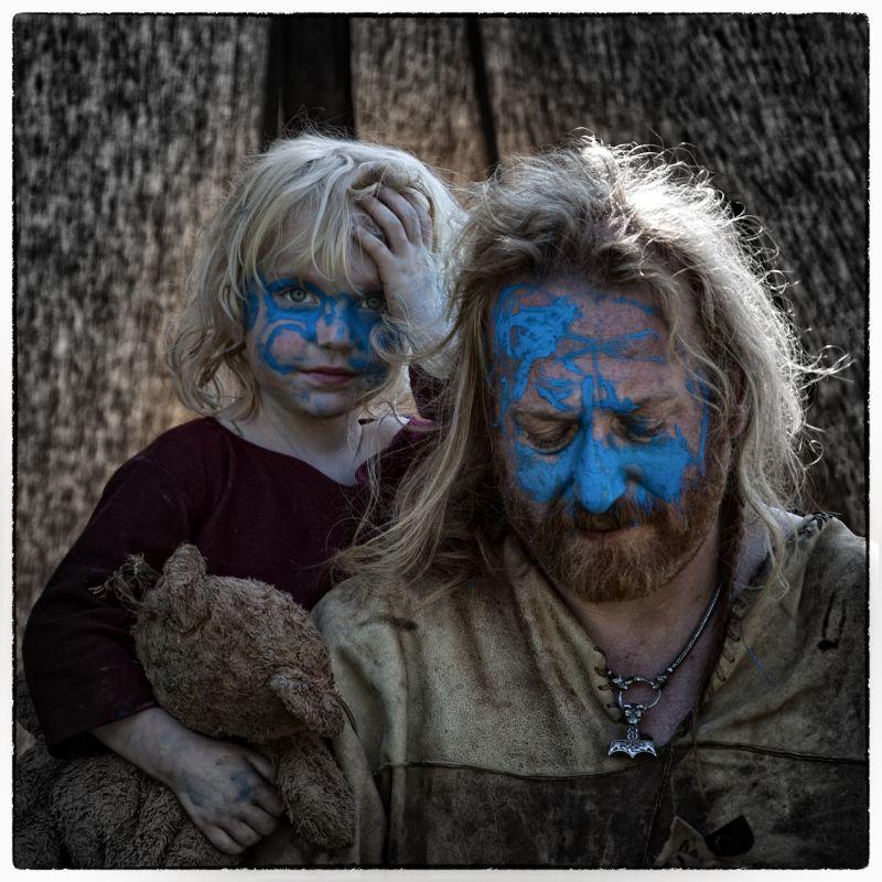 Blue Faced Celts Sotw Ch 2 Of Britain Paint Kids Faces Do A Mock Battle Against Romans By René Van Rijswijk