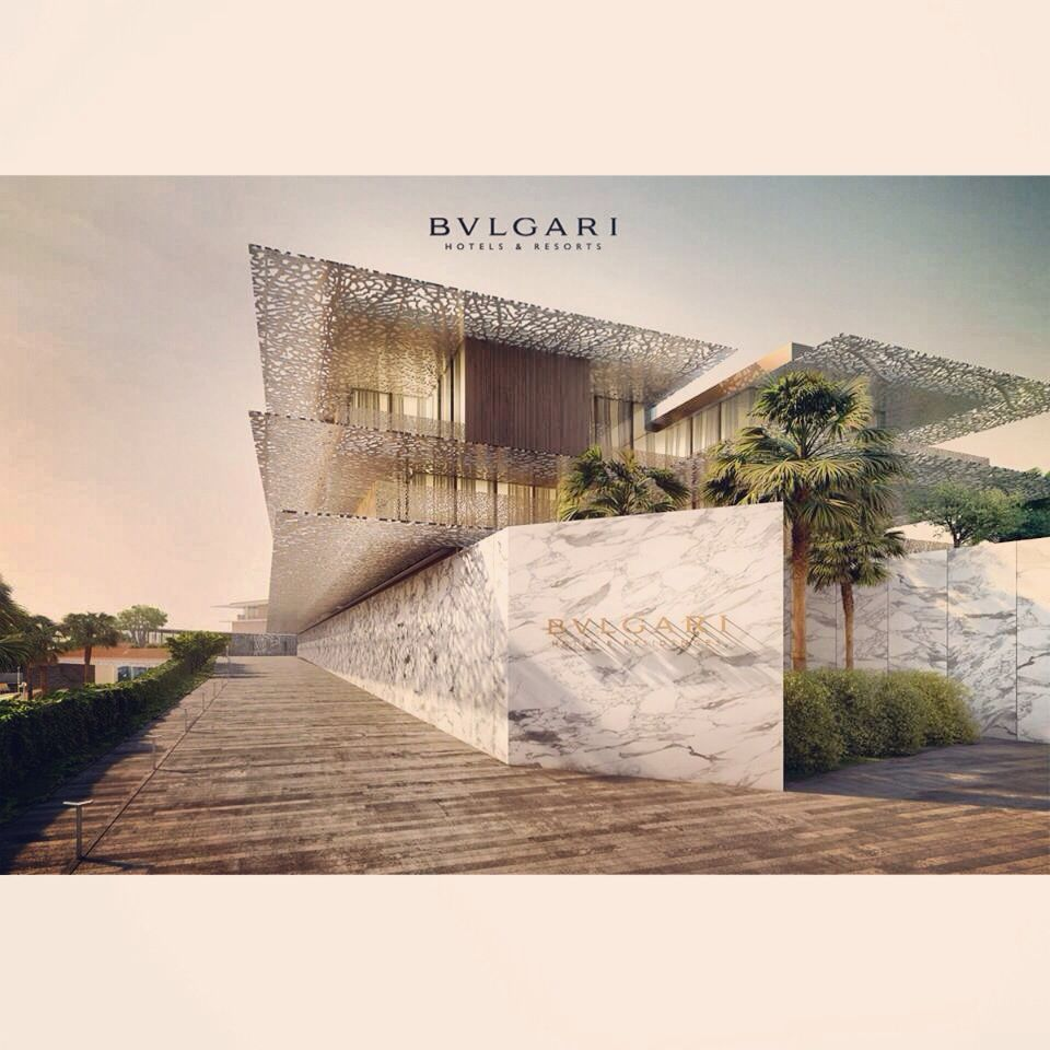 The new bulgari hotel dubai thank you antonio sassano for Bulgari hotel dubai