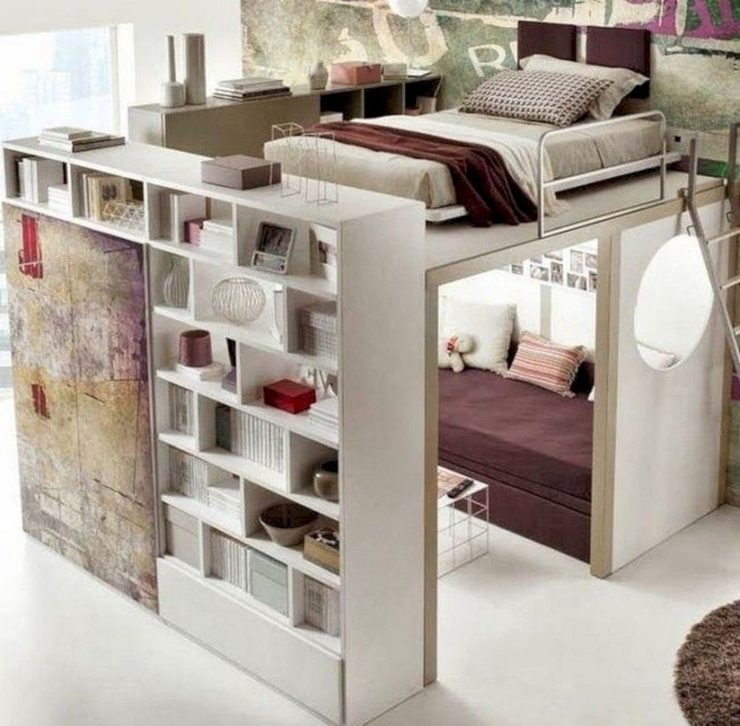Best 47 Cute Diy Bedroom Storage Design Ideas For Small Spaces 400 x 300
