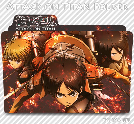 Attack on Titan Icon Folder Attack on titan anime