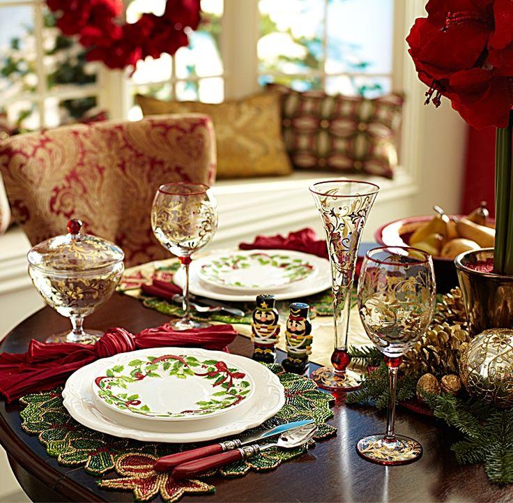 Pinterest Navidad, Decoración navideña, mesa de navidad, colores - jardines navideos