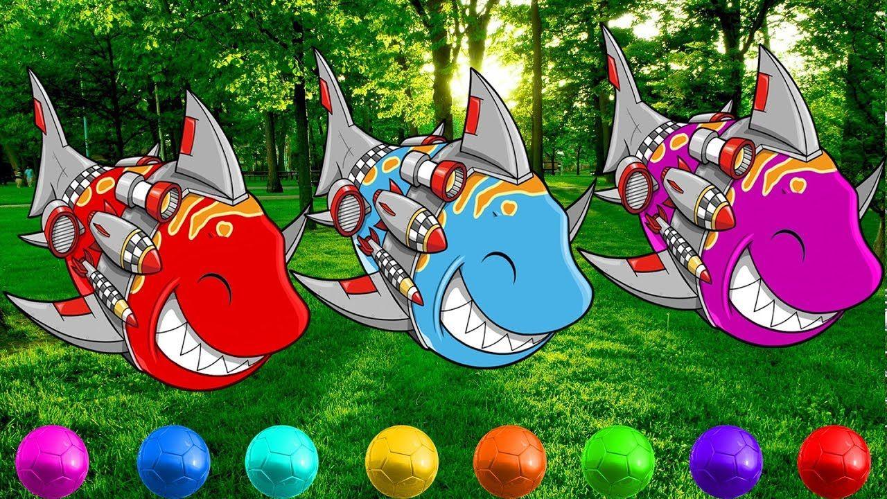 Learn Colors with Baby Shark | +More Nursery Rhymes & Kids Songs ...