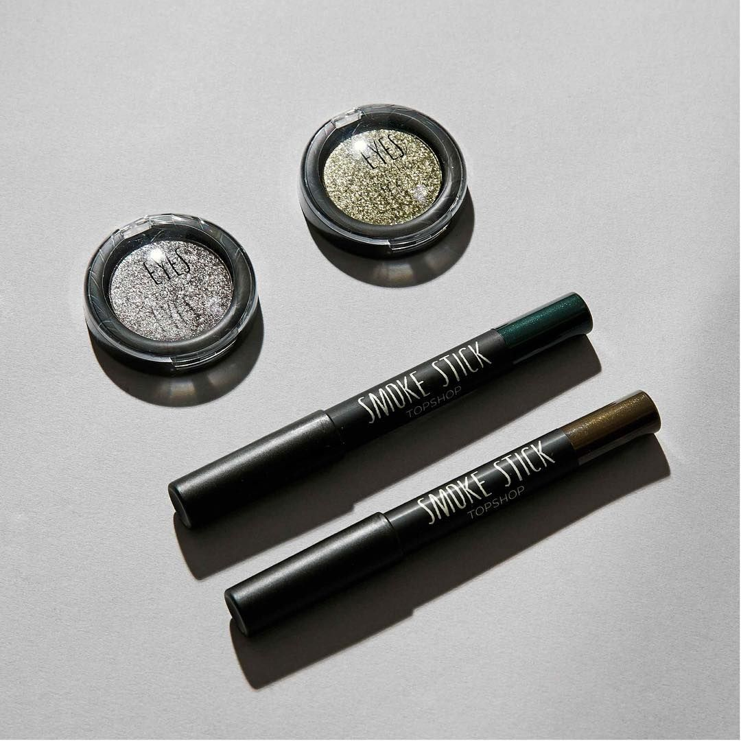 """""""Meet our new in smoke sticks, the hardest working item in your make up bag. #makeup #beauty #smokeyeye #TopshopBeauty"""""""