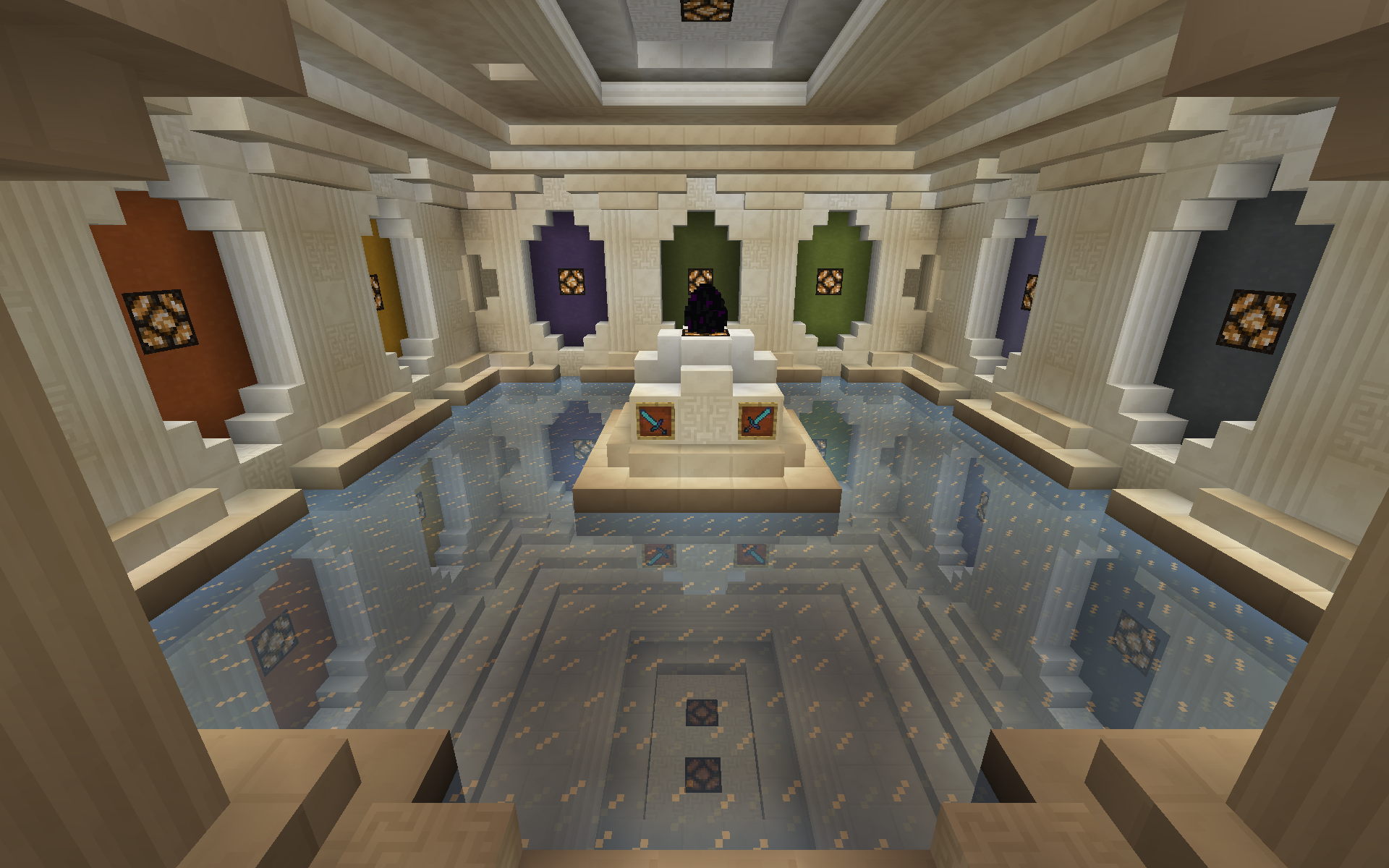 Minecraft interior design cool minecraft interior design for Cool minecraft interior designs