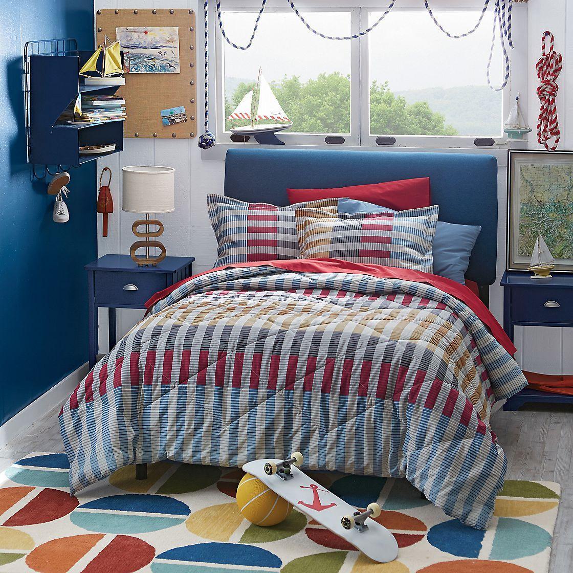 Ryan Stripe Reversible Comforter