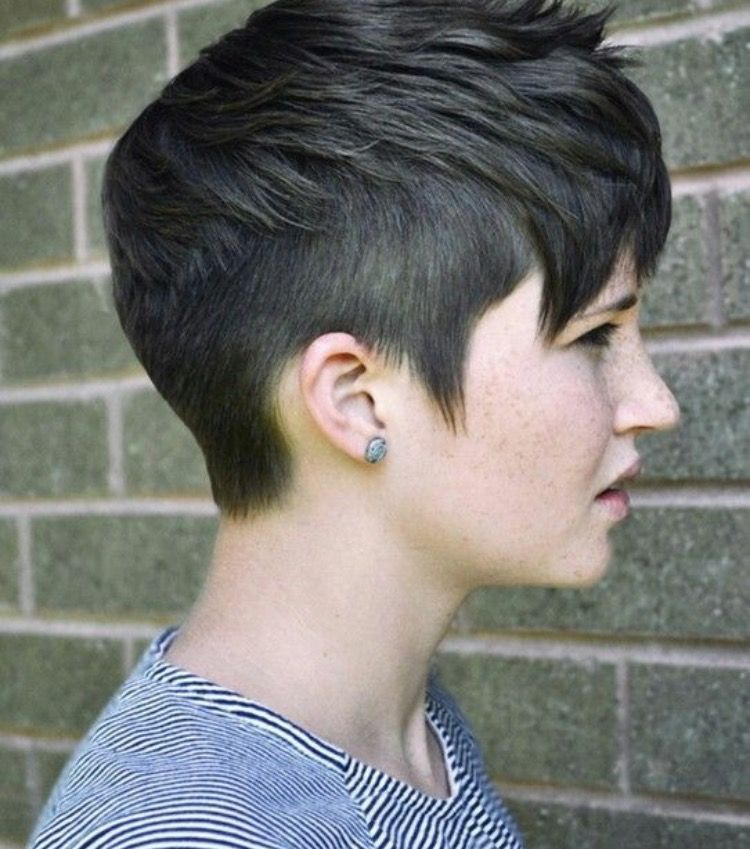 Short Pixie With Shaved Sides Best Short Hair Styles