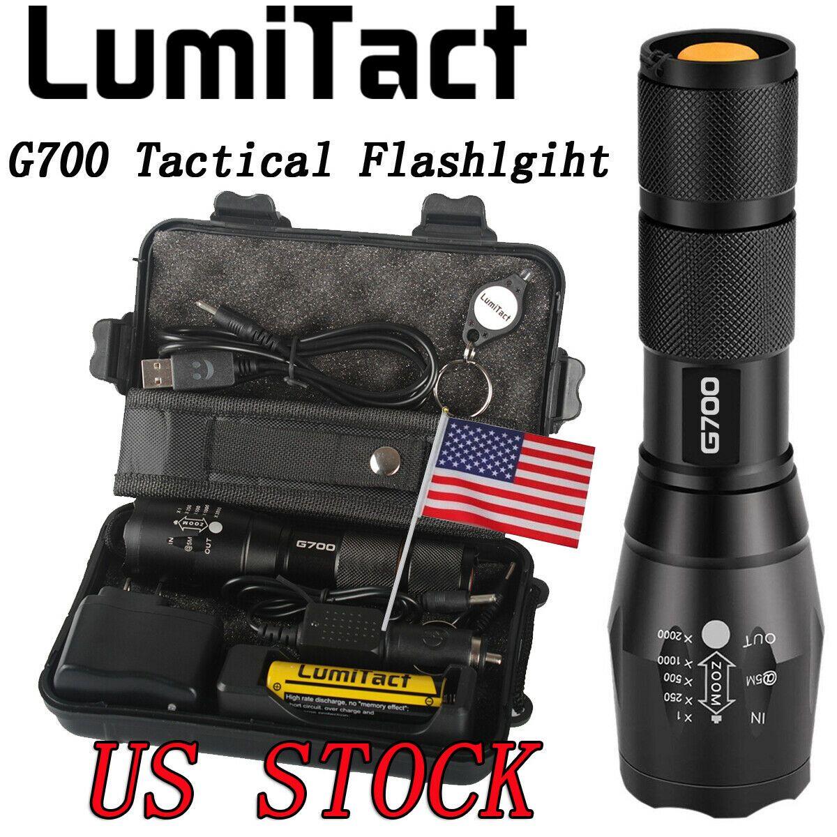 20000lm Genuine Shadowhawk X800 Flashlight XM-L L2 LED Zoom Military Torch 18650