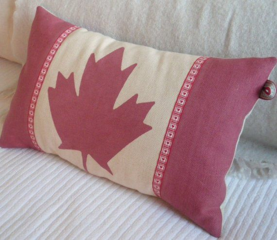 Canadian Inspired Home Decor Canada Pillow Via Etsy: I Want This For My Future Cottage!
