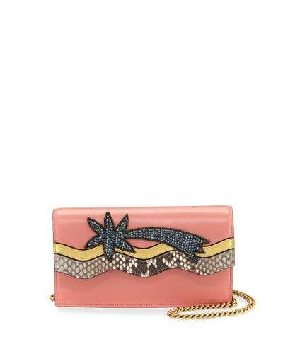 a1a85f5037c8 Broadway Shooting Star Clutch Bag, Pink/Multi   *Handbags ...