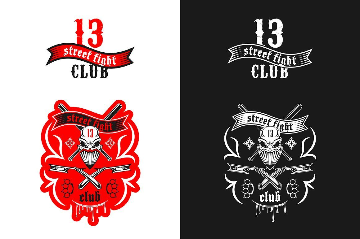 Street Fight Club 13 Emblem