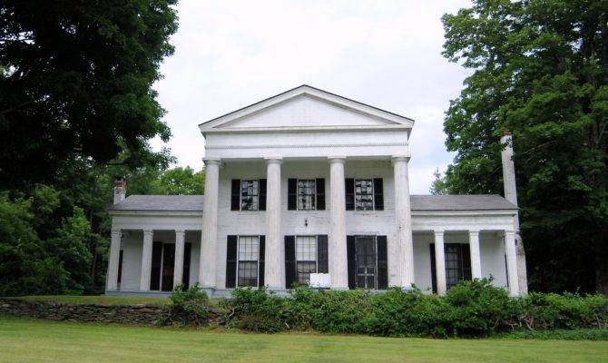Greek Revival Perfection Awesome Houses Pinterest House Plans 30416 In 2020 Greek Revival Home Southern Architecture Greek Revival