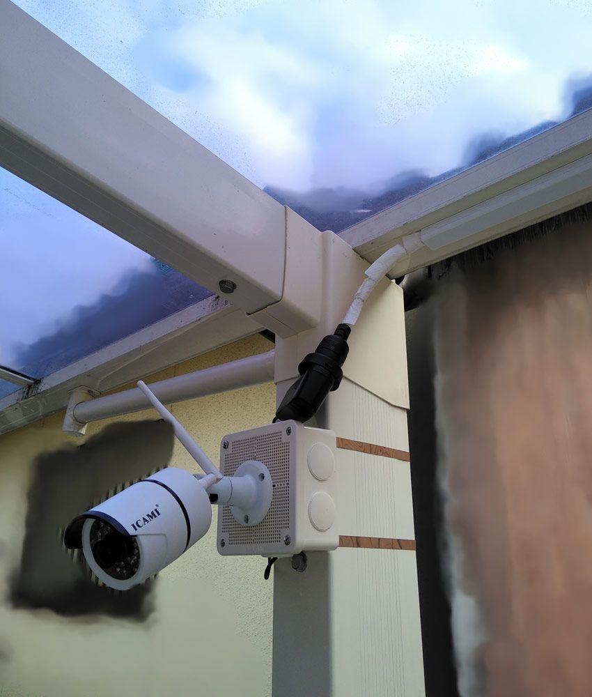 Diyで自宅に防犯カメラを設置するぞ 機器や部材の選定 取付まで説明