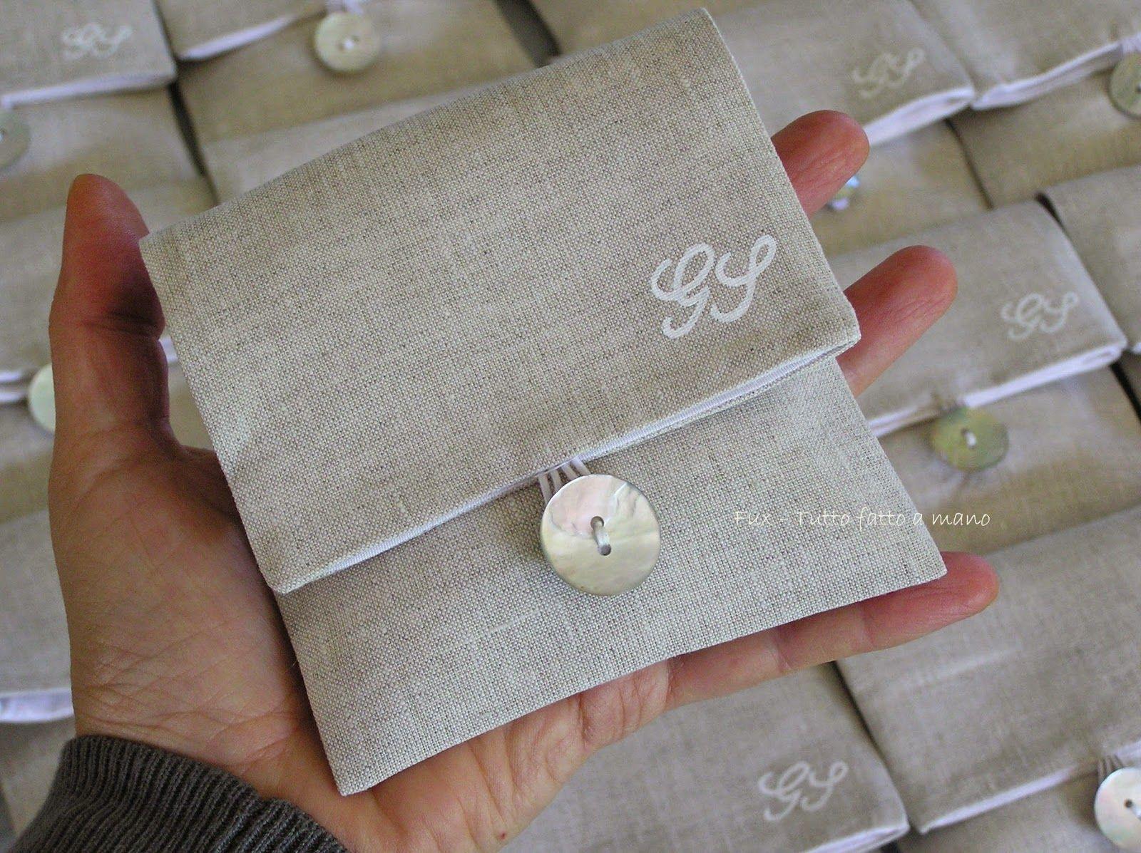 Amato sacchettini confetti in lino con iniziali - Cerca con Google  ZC24