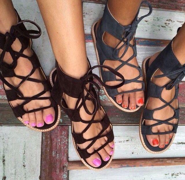 Short Gladiator Sandals | Shoes | Shoes, Shoe boots, Fashion