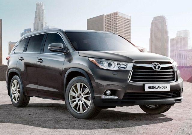 Toyota Hybrid Cars >> 2016 Toyota Highlander Front 2017 Toyota Highlander