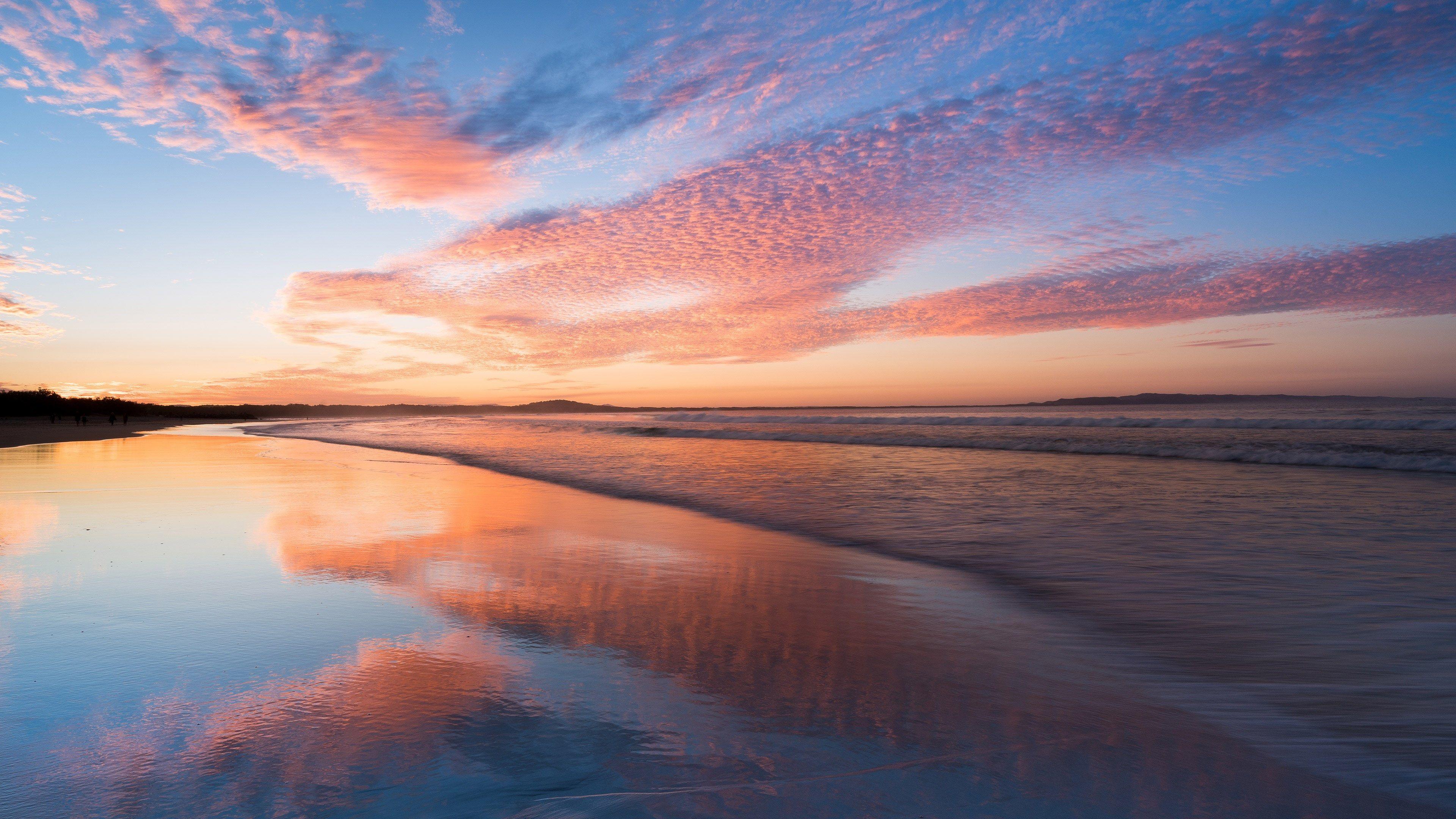 3840x2160 Seascape 4k Desktop Wallpaper Hd Widescreen 4k Desktop Wallpaper Sunrise Wallpaper Sunset Wallpaper