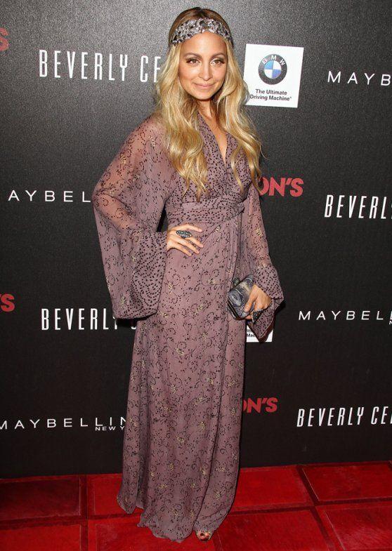 Nicole Richie Boho chic Love me some long sleeve maxi dresses