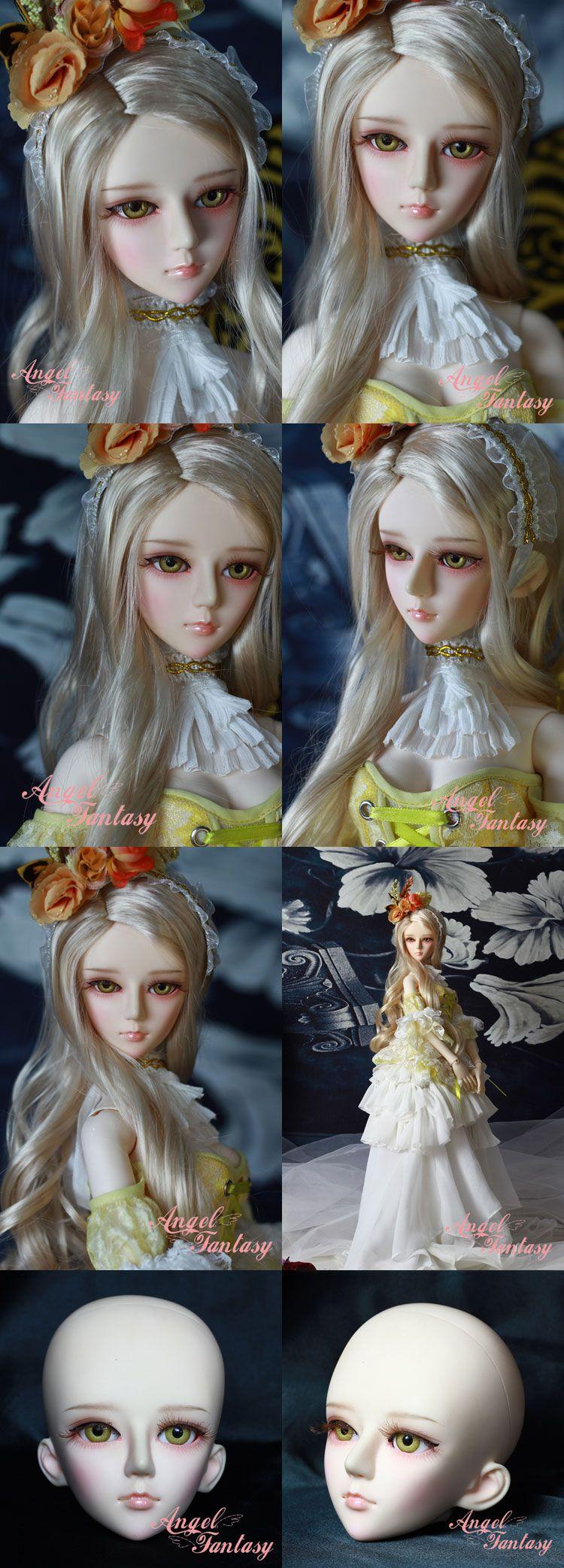 BJD shelley Girl 60cm Boll-jointed doll_58 ~ 70cm dolls_ANGEL FANTASY-_DOLL_Ball…
